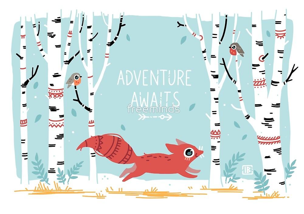 «La aventura espera» de freeminds