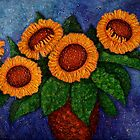 Sunflowers of my hope by Madalena Lobao-Tello