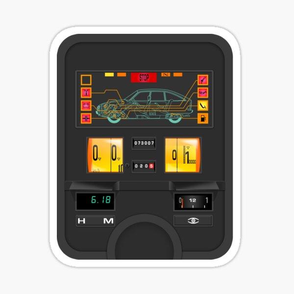 Citroën GSA dashboard instrument panel Sticker