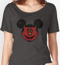 Devil Mickey Women's Relaxed Fit T-Shirt