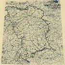 Zwölfter Heeresgruppe Lageplan 27. April 1945 von allhistory