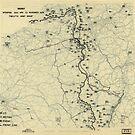 Zwölftes Heeresgruppe Lageplan 10. November 1944 von allhistory