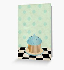 Delicious cupcake Greeting Card