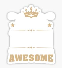 August 1949 70 Years Of Being Awesome Sticker