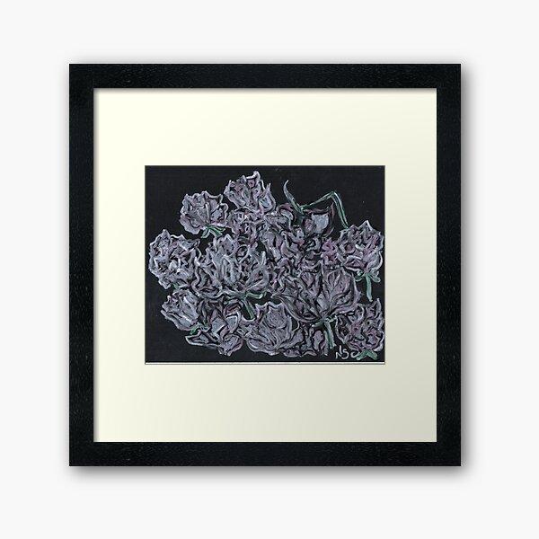 A DOZEN ROSES Framed Art Print