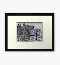COBBLESTONE MILL Framed Print