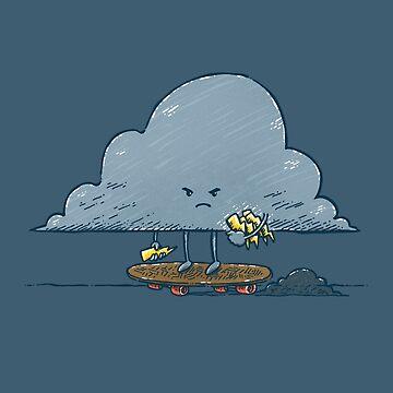 Thunder Cloud Skater by nickv47