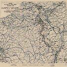 19. Februar 1945 Zwölfte Armeegruppensituation Karte des Zweiten Weltkrieges von allhistory