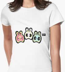 hop off Womens Fitted T-Shirt