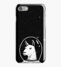 Space lama iPhone Case/Skin