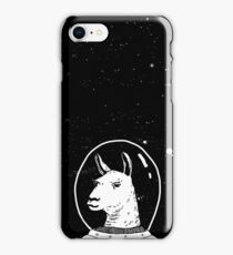 Space lama iPhone Case/Skin