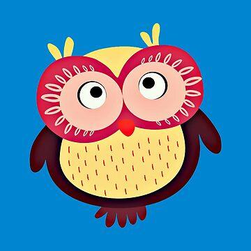 Tropical Owl by realmatdesign