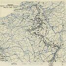 27. Dezember 1944 Zweiter Armeegruppen-Lageplan des Zweiten Weltkrieges von allhistory