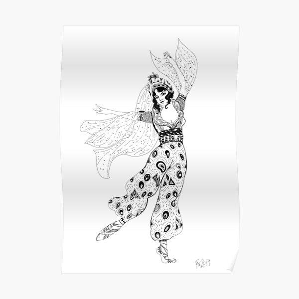 A dance of Bakst #1 Poster