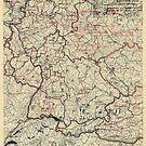 19. Juli 1945 Weltkrieg Zwölfte Armeegruppe Situationskarte von allhistory