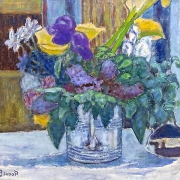 Iris and lilac, Pierre Bonnard by fourretout