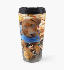 Duke in Denim. Travel Mug