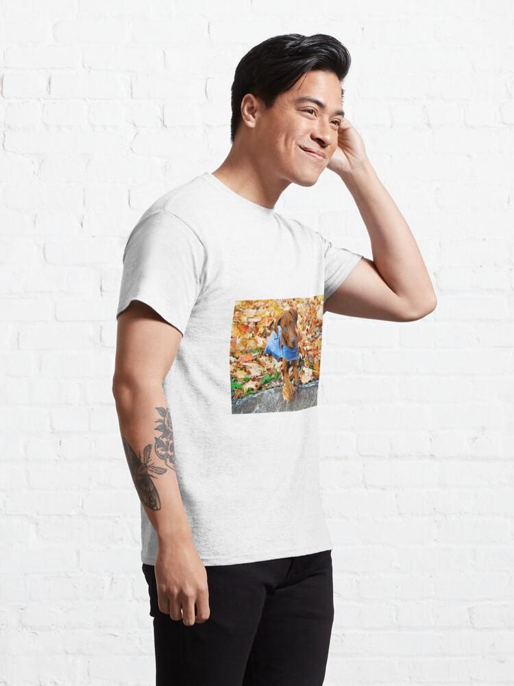 Alternate view of Duke in Denim. Classic T-Shirt