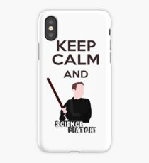Keep Calm and Science Biatch! iPhone Case/Skin