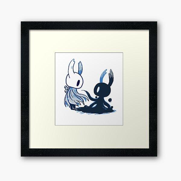 Hollow knight shade  Framed Art Print