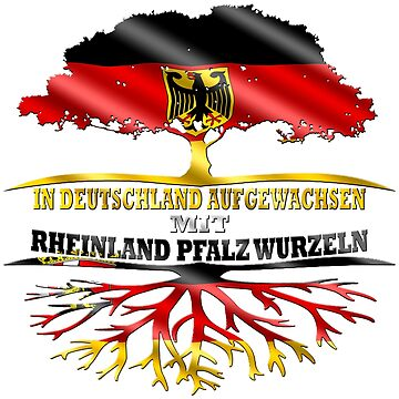 Rhineland Palatinate Federal State Germany by ExtremDesign