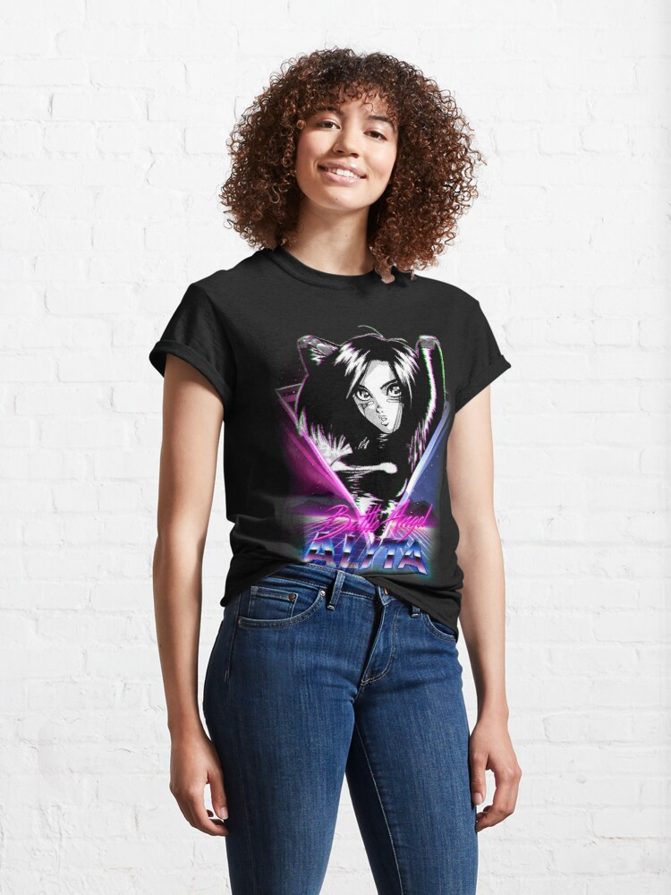 Alternate view of Nineties Battle Angel Classic T-Shirt
