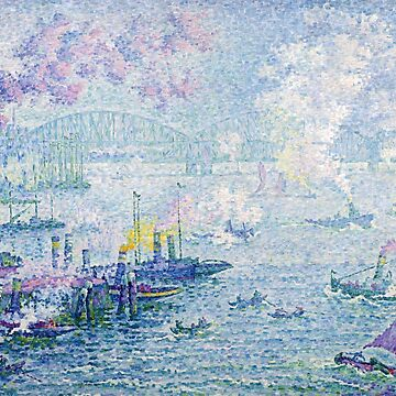 The Port of Rotterdam, Paul Signac by fourretout