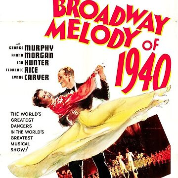 Classic Movie Poster - Broadway Melody of 1940 by SerpentFilms