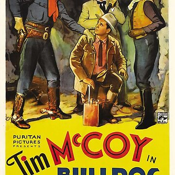 Classic Movie Poster - Bulldog Courage by SerpentFilms