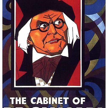 Classic Movie Poster - The Cabinet of Dr. Caligari by SerpentFilms