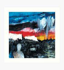 Radiohead art  Art Print