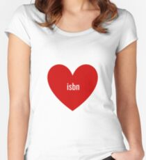 isbn Women's Fitted Scoop T-Shirt