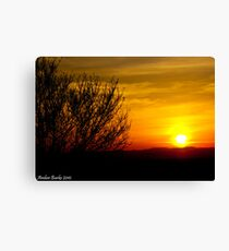 Sunset Stunner in Northern California Canvas Print
