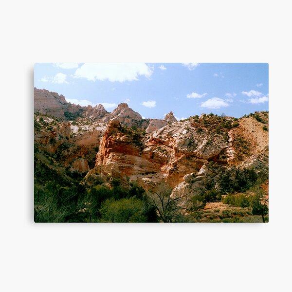 Grand Staircase - Escalante Red Rocks Canvas Print