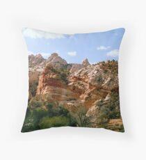 Grand Staircase - Escalante Red Rocks Throw Pillow