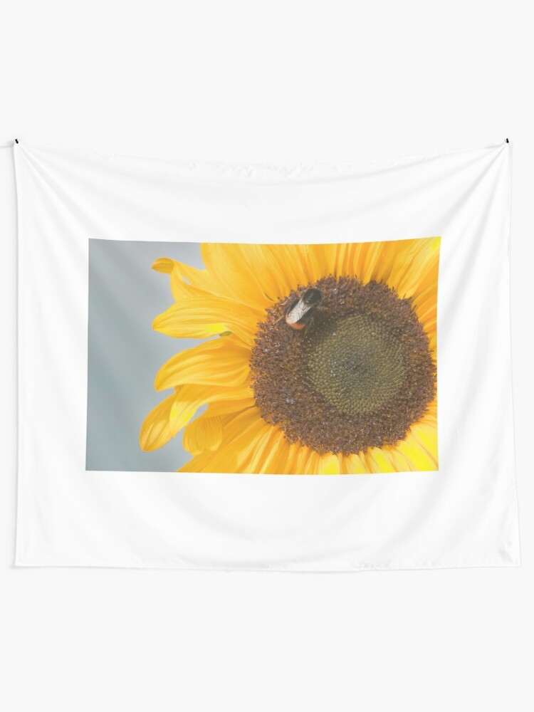 Alternate view of The Sunflower and the Bee Tapestry