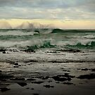 Wispy Surf,Great Ocean Road by Joe Mortelliti