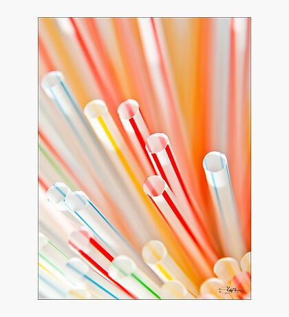 The Final Straw Photographic Print