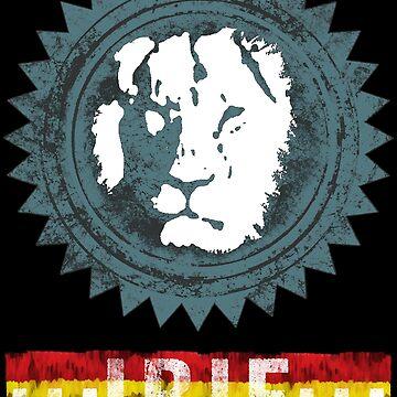 reggae lion irie von Periartwork