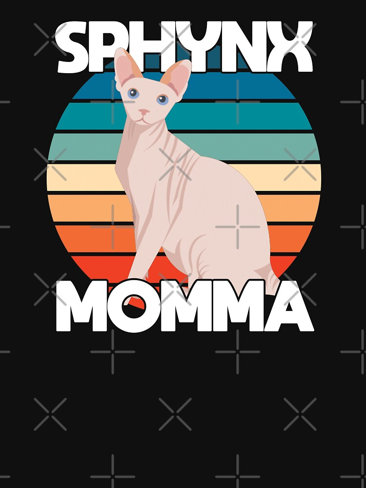 Sphynx Cat Momma Funny Design - Sphynx Momma  by kudostees