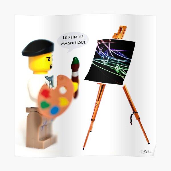 Le Peintre (The Painter) Poster