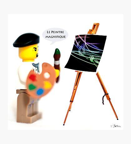 Le Peintre (The Painter) Photographic Print
