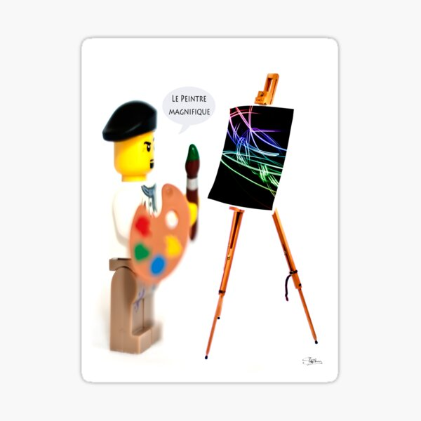 Le Peintre (The Painter) Sticker
