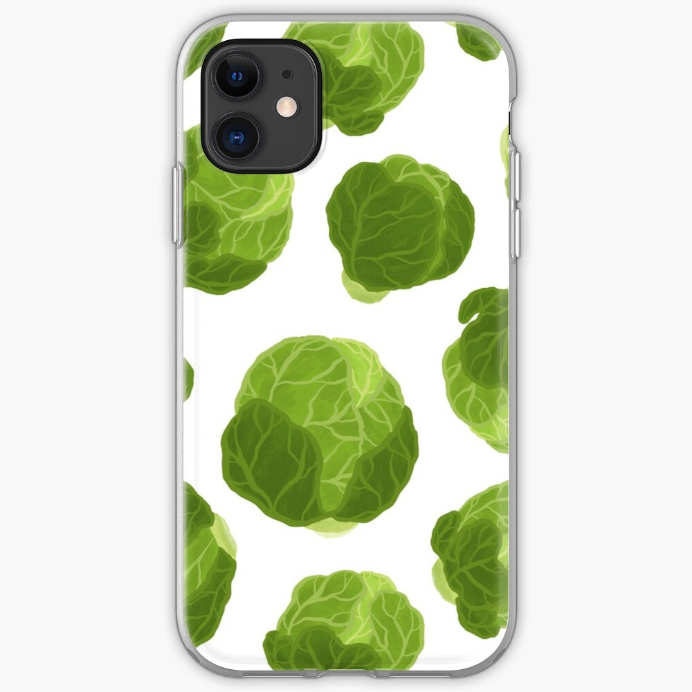 Brussels Sprouts Tumble iPhone Soft Case