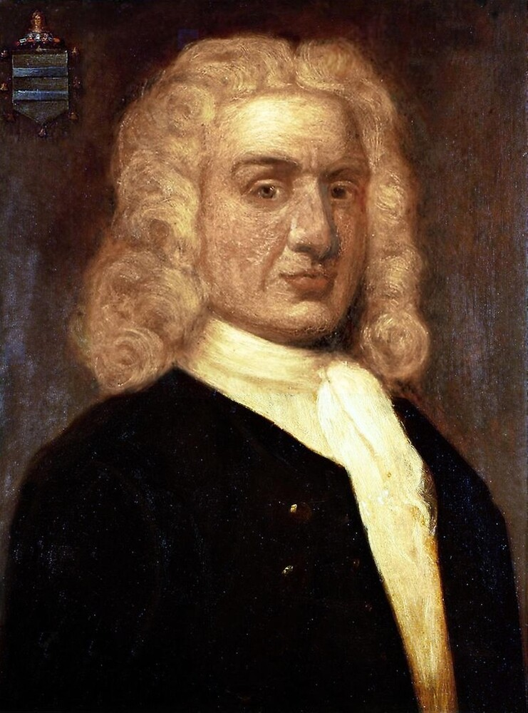 William Kidd, Privateer, PIRATE. 18th century portrait by Sir James Thornhill. by TOM HILL - Designer