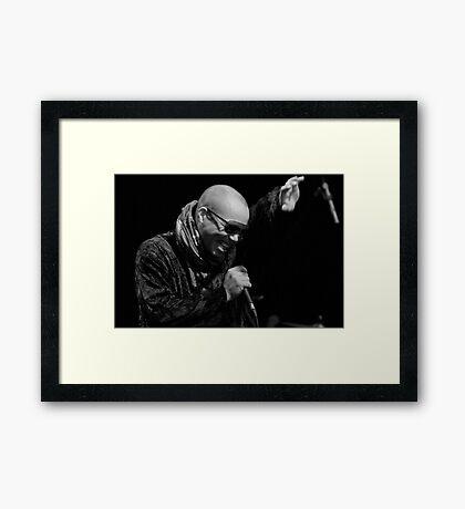sweet and lovin man Framed Print