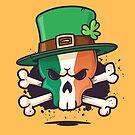 Irish Leprechaun Skull by zoljo