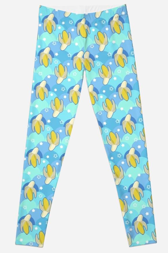 Banana Stars Scalloped Pattern by SaradaBoru