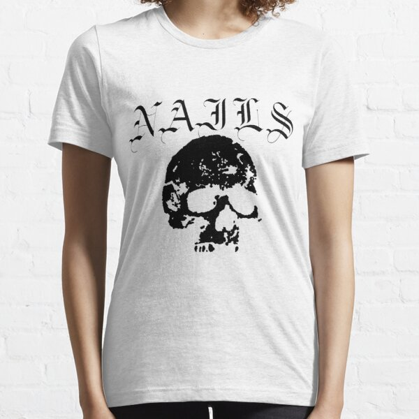 Nails, Hardcore Punk band, Black Essential T-Shirt
