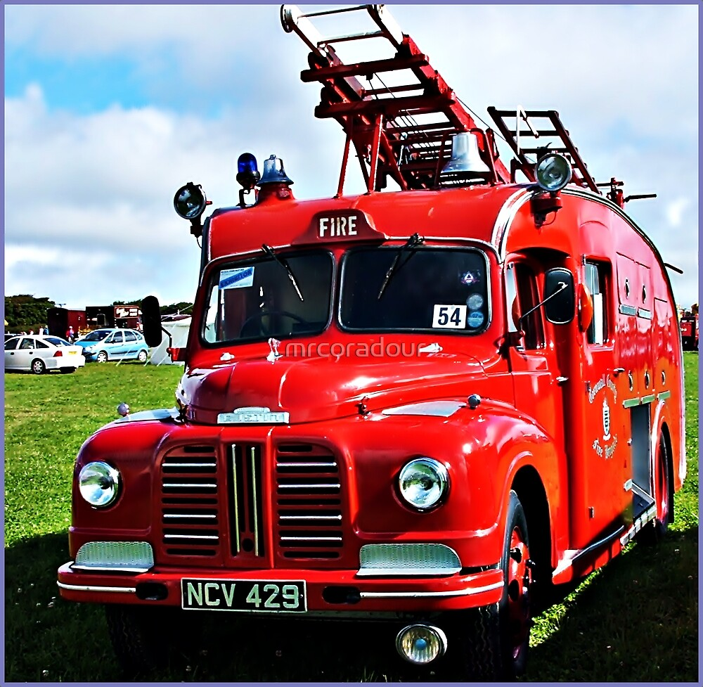 """"""" A War Time Fire Engine"""" by Malcolm Chant"""
